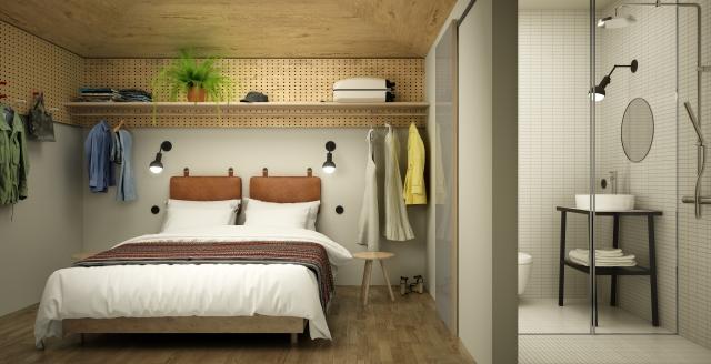 La Sleeper room (courtesy Hobo)
