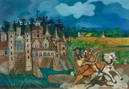08 - Diligenza con castello