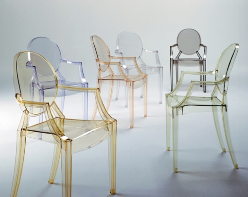 LOUIS Ghost Chair -courtesy Kartell website