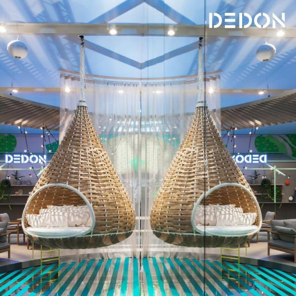 DEDON, NESTREST @ Salone del Mobile 2017, Rho Fiera