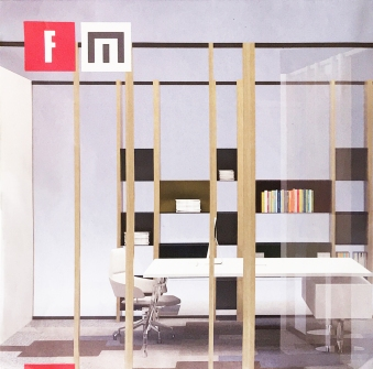 FARAM, WOODS Pleasant (work) places @ Salone del Mobile 2017, Rho Fiera