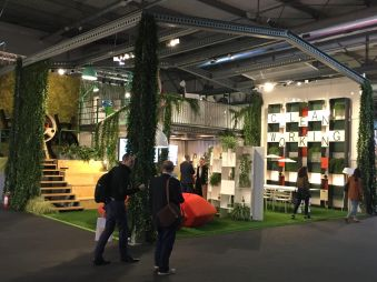 OFFICINE TAMBORRINO, C_LEAN WORKING @ Salone del Mobile 2017, Rho Fiera