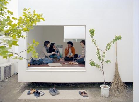 Moriyama House, Tokyo. Office of Ryue Nishizawa, Tokyo, 2005 © Dean Kaufman