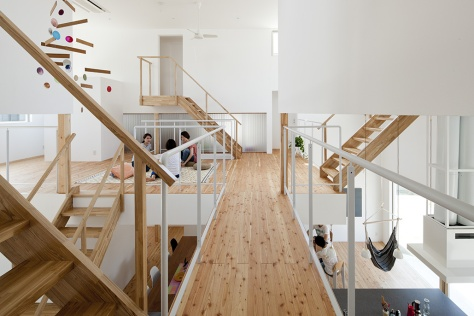 LT Josai, Nagoya, 2013 Naruse Inokuma Architects, Tokyo © Masao Nishikawa