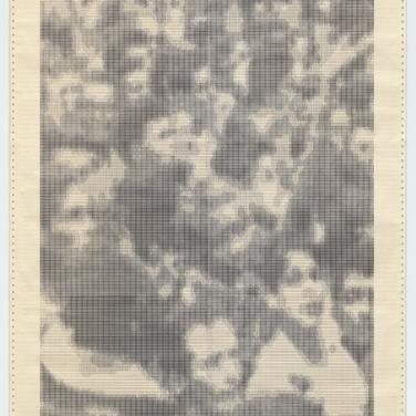 Waldemar Cordeiro. Gente Ampli*2. 1972. Computer output on paper. 52 15/16 x 28 9/16″ (134.5 x 72.5 cm). The Museum of Modern Art, New York. Latin American and Caribbean Fund, 2016. © 2017 Waldemar Cordeiro
