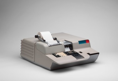 Mario Bellini. Programma 101 Electronic Desktop Computer. 1965. Die-cast aluminum casing. Manufactured by Ing. C. Olivetti & C. S.p.A., Ivrea, Italy. The Museum of Modern Art, New York. Gift of the manufacturer. © 2017 Mario Bellini
