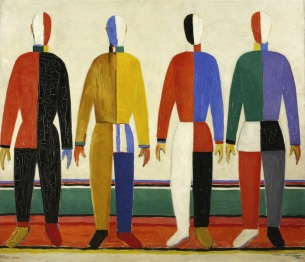 Kazimir Malevich, Sportivi, olio su tela, 1930-31