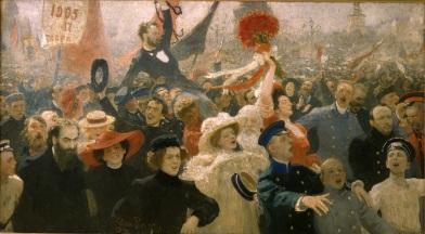 Il'ja Repin, 17 ottobre 1905, olio su tela, 1910