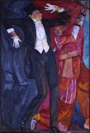 Boris Grigor'ev, Ritratto di Vsevolod Mejerchol'd, olio su tela, 1916