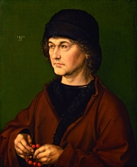 Albrecht Dürer, portrait the helder