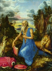 Durer, Albrecht (1471-1528): Saint Jerome, about 1496. London, National Gallery*** Permission for usage must be provided in writing from Scala.