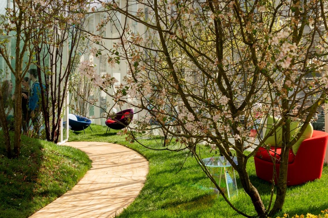 Living Nature – Spring - Courtesy Salone del Mobile.Milano - Photo credits: Saverio Lombardi Vallauri