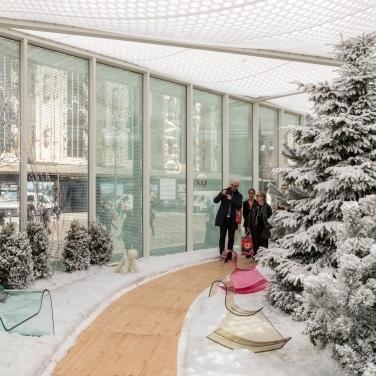 Living Nature – Winter - Courtesy Salone del Mobile.Milano - Photo credits: Saverio Lombardi Vallauri