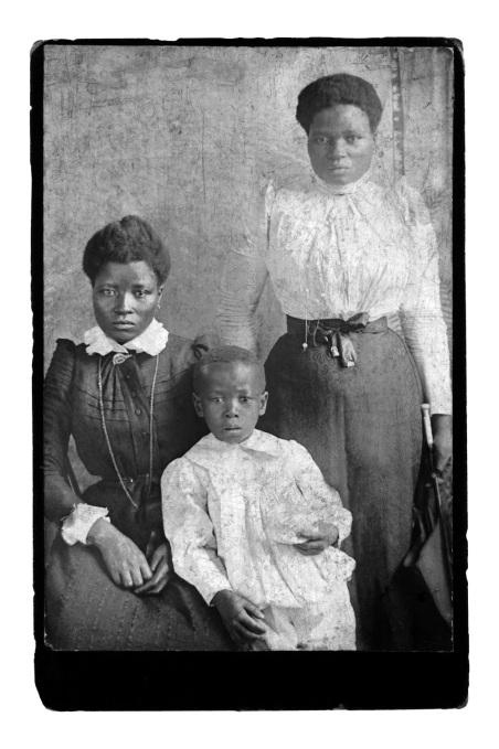 Santu Mofokeng (b 1956) Black Photo Album / Look at Me: 1890 - 1950 Slide 39/80 black and white slide projection installation 1997 ©Santu Mofokeng Foundation Images courtesy Lunetta Bartz, MAKER, Johannesburg