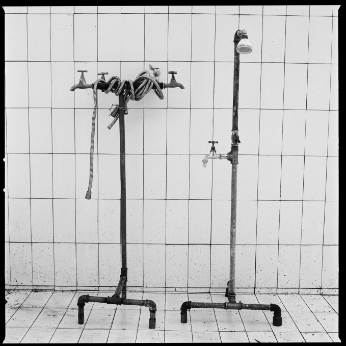 Yto Barrada Plumbers Assemblage, 2014_Set of 10 gelatin silver prints_50 x 50 cm, each (framed)_fig.10