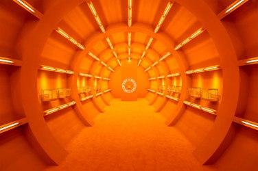 Bulgari, vista del tunnel dall'ingresso