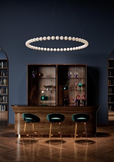Design Pearl Drop to fit your space-Preciosa