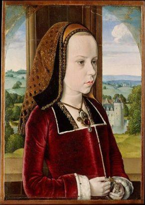 "Jean Hey ""Margaret of Austria"", ca.1490"