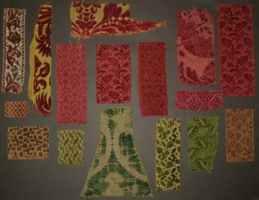Rare Italian Renaissance Silk Velvet Fragment